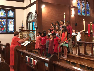kids choir pentecost 17 2