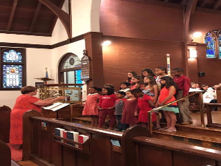 kids choir pentecost 17